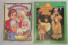 1977 - 1978 Sunshine Fun Family Sunshine Family Lot of 2 Both Uncut!
