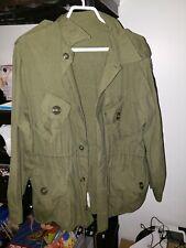 Military Jacket Coat Combat Mk II Lightweight Iron Maiden Patch Size Large