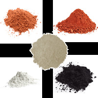 Organic Cosmetic Clay Powder -French, Rhassoul, Bentonite, Kaolin, Fullers Earth
