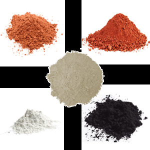 Organic Cosmetic Clay Powder -French, Rhassoul, Bentonite, Kaolin, Fullers Earth