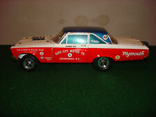 1/18th Scale Gate City Motors 65 Plymouth    Drag Racer By Die-Cast Promotions
