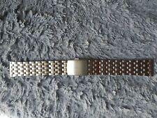 Bracelet montre (type Seiko) acier inoxydable  18mm ou 20mm ou 22mm