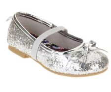 Faded Glory Toddler Girls Casual Glitter Flats Size 7