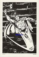 JOHN BYRNE SUPERMAN DC COMICS VINTAGE ART PRINT 1984 MAN OF STEEL FLYING CLASSIC