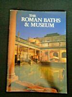 1985 Roman Baths & Museum Official Guidebook Souvenir Italy Ancient Rome ITALY