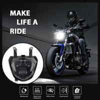 Motorrad LED Scheinwerfer Für Yamaha MT07 2014 2015 2016 2017 FZ07 MT-07 Licht