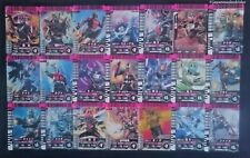 Used Kamen Rider Battle Gamba Ride Card 100 sheets set ① Japan F/S