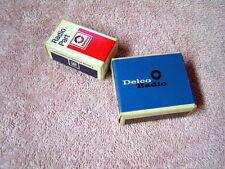 DELCO CAR RADIO PARTS - TRANSISTORS & DIODES - NOS