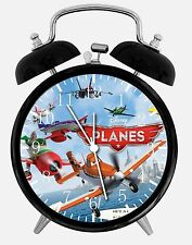 "Disney Planes Dusty Desk Clock 3.75"" Home or Office Decor B225 Nice For Gift"