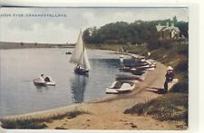 New listing C 151 ISLE OF WIGHT - POSTCARD OF CANOE LAKE,RYDE - Celesque