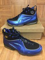 RARE🔥 Nike Air 1/2 Cent Varsity Royal Black Silver Sz 12 344646-401 Basketball