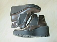 Clarks leather ladies boots, size 4