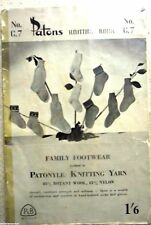 Vintage Toddlers  Knitting Pattern book no.C.7  boys & girls  socks & gloves