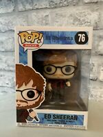 Funko Pop Pop Rocks Ed Sheeran Ed Sheeran #76