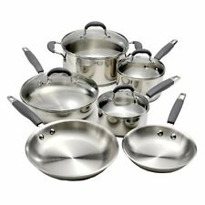 ONEIDA Reflections 10 piece stainless steel professional cookware set