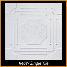 Ceiling Tiles Glue Up Styrofoam 20x20 R46 White lot of 100 pcs 270 sq ft
