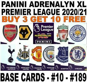 PANINI ADRENALYN XL PREMIER LEAGUE 2020-2021 20/21 BASE CARD #10 - #189