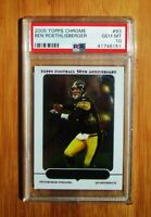 2005 Topps Chrome BEN ROETHLISBERGER #93 PSA 10 GEM MINT