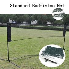 6.1m x 0.76m Professional Training Square Mesh Badminton Net Green Home Garden
