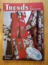 Trends im Kreuzstich Gerlinde Gebert 1996 Nähen Sticken