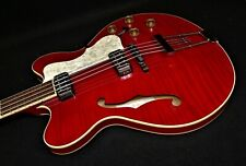 HOFNER HCT-500/7-TR Contemporary Verythin BASS GUITAR Great UK VINTAGE VIBE NEW