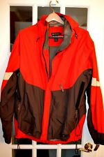 Recreation Equipment Inc. Men's Jacket Red&Brown Size XL Pre Very Good Condition