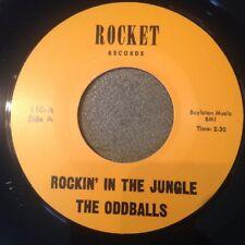 HEAR Rocker Rockabilly RE The Oddballs - Rockin' in the Jungle - Rocket (2 sider
