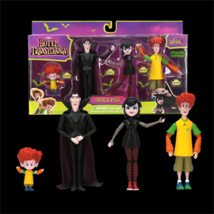 Hotel Transylvania 3 Drac's Pack Exclusive 4 PCS Action Figure Toy Gift For Kids