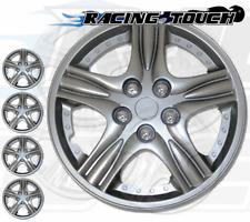 "15"" Inch Replacement Wheel Cover Hubcap #510 Metallic Silver Hub Caps 4pcs Set"