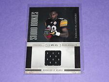 2010 Rookies & Stars EMMANUEL SANDERS #34 RC JSY/ Steelers-Broncos SMU Mustangs