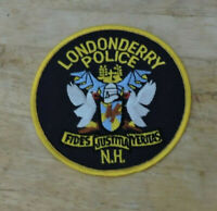 Patch Retired: Londonderry, New Hampshire Police Patch