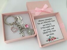 Personalised Birthday Gift keyring for Mum Sister Daughter Friend 16th 18th 21st