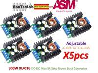 5pcs 300W XL4016 DC-DC Adjustable Max 9A Step Down 5-40V to 1.2-35V Power Supply
