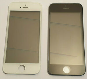 Vitre tactile montée sur chassis avec colle OCA pour écran LCD iPhone 5s/se