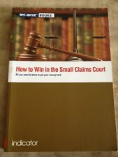 How To Win In The Small Claims Court, Get Your Money Back Book
