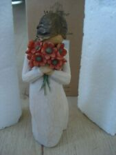 Surrounded By Love Willow Tree Figurine, Flowers, #26233 Susan Lordi, with Box