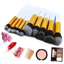 10Pcs Beauty Makeup Brush Tools Cosmetic Eyebrow Face Eyeliners Makeup Brushes
