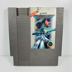 GRADIUS -- NES Nintendo Original Classic Authentic Game TESTED GUARANTEED