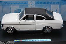 Opel Kadett B  Olympia A Coupé weiß schwarzes Dach  Revell 1:18 OVP