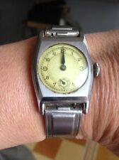 Montre femme vintage bracelet métal ManuFrance St Etienne
