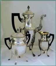 COIGNET: Massive Antique French Sterling Coffee or Tea Service