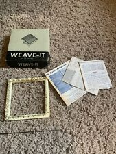 New listing Vintage Weave-It Loom In Original Box Instruction