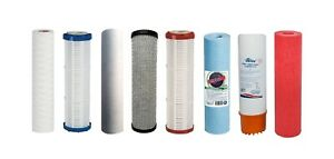 """Filtereinsatz 10"""" Wasserfilter Filterkartusche Filterpatrone Vorfilter Varianten"""