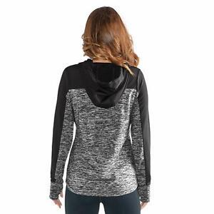 GIII For Her NBA Miami Heat Women's Sideline Pullover Hoody Size Medium Grey