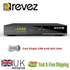 Revez Q12 Full HD 1080p DVB-S2 DVB-T2 Digital COMBO Receiver LAN USB + Card Slot
