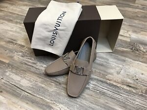 Louis Vuitton Driving Shoes Mocassines Mens Loafers New W/Box/Bag Sz 8.5 US 7LV