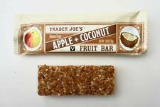 Trader Joe's Gluten Free Apple + Coconut Fruit Bars (Pack of 12)