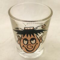 Vintage Googly Roving Eyes Shot Glass S-SDelightful ! Collectible Anchor Hocking