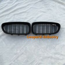 BMW grille M5 look 5 series 2010+ F10 / F11 528i 535i 550 matt black double slat