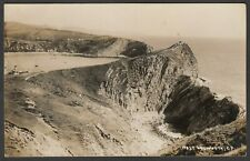 Postcard West Lulworth nr Weymouth Dorset cove and coast RP early